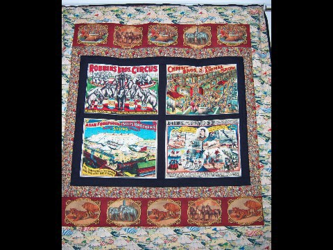 quilt old style circus